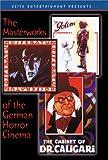 echange, troc Masterworks Of The German Horror Cinema (Box Set) (1919 -1922) [Import USA Zone 1]