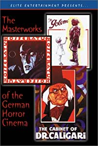 The Masterworks of the German Horror Cinema (Nosferatu / The Cabinet of Dr. Caligari / The Golem)