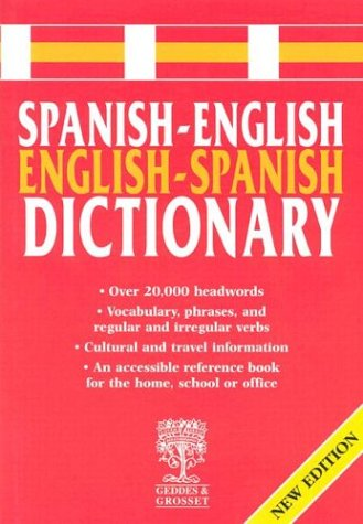 Spanish-English Dictionary (Spanish Edition)
