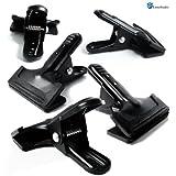 LimoStudio Set of 5 Photo Studio Universal Pro Muslin/Paper Clamps, AGG900
