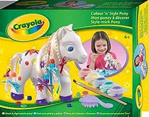 Crayola - Loisir Créatif - Le Poney À Décorer