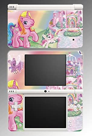 My Little Pony Equestria Brony Derpy Video Game Vinyl Decal Cover Skin Protector #3 Nintendo DSi XL