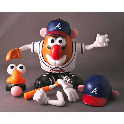 Buy Low Price Promotional Partners Worldwide MLB Atlanta Braves Mr. Potato Head Figure (B000PE550Q)