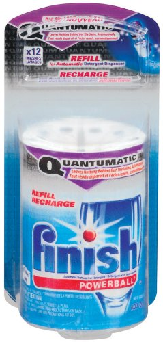 Finish Jet Dry Quantumatic, Refill, 12-Count (Pack of 3)