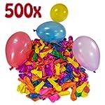 Belmalia 500 x Wasserbomben Mega-Pack...