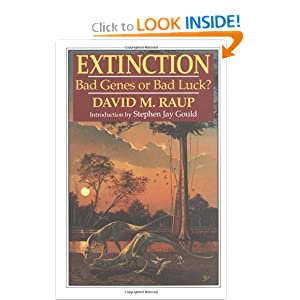 Extinction: Bad Genes or Bad Luck?