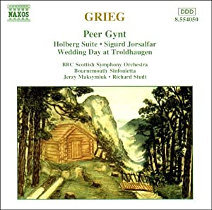 Grieg - Orchestral Music: Peer Gynt, Holberg Suite, Sigurd Jorsalfar, Wedding Day at Troldhaugen. from Naxos