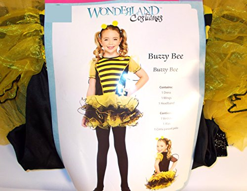 Buzzy Bee Bumblebee Bumble Bee Dress Child Costume S 4-6 NWT