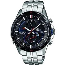 Casio EQS-A500RB-1AVER Mens Edifice Silver Chronograph Watch