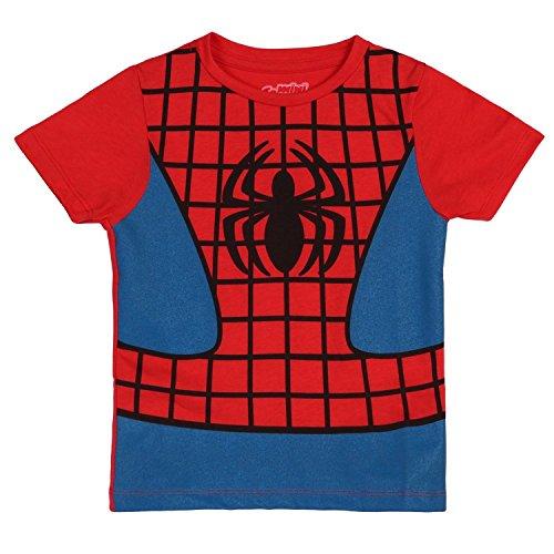 I Am Spiderman Childrens Costume T-Shirt (Juvenile 7)