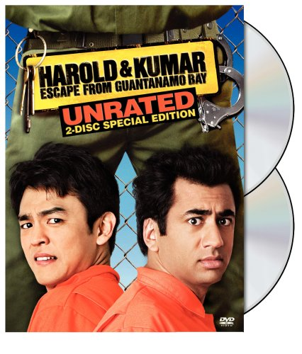Cover art for  Harold and Kumar Escape From Guantanamo Bay (Unrated Two-Disc Special Edition)