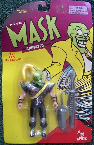 Mask Animated Series Ninja Mask with Double Chopping Arms