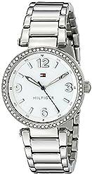 Tommy Hilfiger Women's 1781589 Analog Display Quartz Silver Watch