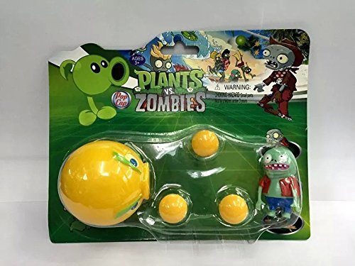 PVZ Plants vs Zombies Peashooter PVC Action Figure Model Toy Christmas Gifts (Style 1) (Aj Lee Sex compare prices)