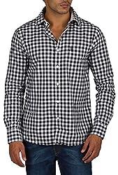 US Polo Assn. Men's Regular Fit Cotton Shirt (USSH3343_Multi-Coloured_S)