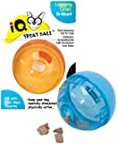 OurPets Smarter Toys Interactive IQ Treat Ball Dog Toy, 5 Inches (Colors may vary)