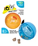 Smarter Toys IQ Treat Ball Dog Toy, 5 Inches (Colors may vary)
