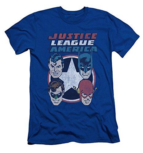 Justice League 4 Stars Slim Fit T-Shirt