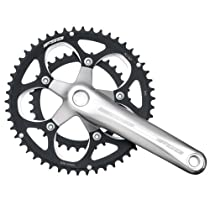 FSA Vero 34/50 -Tooth 9-speed Compact Double Crankset (172.5mm, Silver)