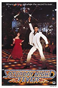 Saturday Night Fever Poster Print (27.94 x 43.18 cm)