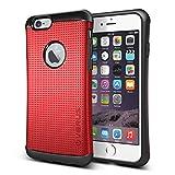iPhone6 ケース VERUS THOR-dot HARD DROP 衝撃吸収 プラスチック × TPU 2層構造 ハイブリッド アーマー ケース for Apple iPhone 6 4.7 インチ 2014 クリムゾンレッド 【国内正規品】