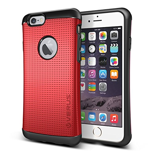 iPhone6s / iPhone6 ケース VERUS HARD DROP 衝撃吸収 プラスチック × TPU 2層構造 ハイブリッド アーマー ケース for Apple iPhone 6s / iPhone 6 4.7 インチ クリムゾンレッド 【国内正規品】 国内正規品証明書 付