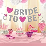 Amscan 9900536 3.5 m Hen Party Bride to Be Glitter Banner