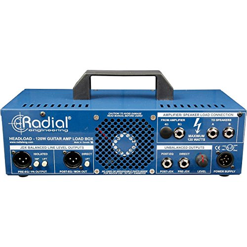 radial headload v8 speaker load box with cab simulator from radial at the blues guitar center. Black Bedroom Furniture Sets. Home Design Ideas