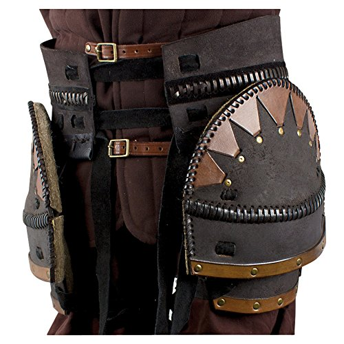 Armor Venue: Orc Brute Tasset Belt Waist Body Armour Brown One Size