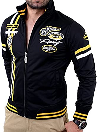 Amazon.com: Goodyear Herren Tricot Jacket Chattanooga, Farbe:black