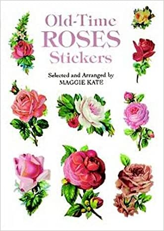 Old-Time Roses Stickers (Dover Stickers)