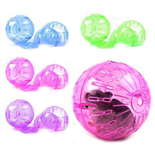 Rodent Jogging Play Exercise Small Ball Toy For Mice Hamster . by CN2Pet 51KZu7k5ZiL