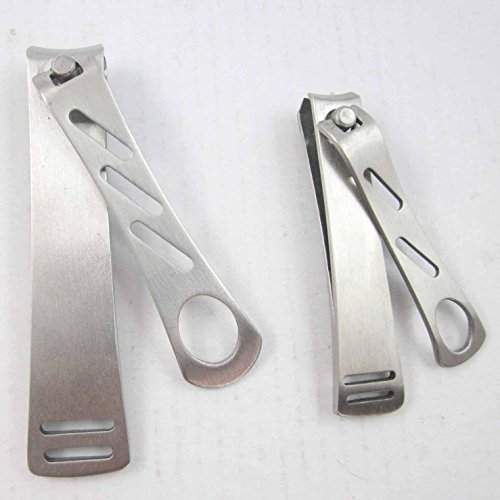 Slandaise Premium Stainless Steel Nail Clipper Deluxe Set ...