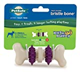 PetSafe Busy Buddy Bristle Bone Dog Toy, X-Small