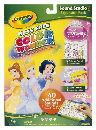 Crayola Color Wonder Sound Studio Disney Princess Refills