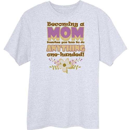 Moms Can Do Anything Funny Novelty T Shirt front-671333