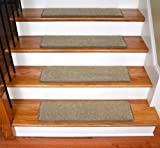 Dean Ultra Premium Stair Gripper Non-Slip Tape Free Pet Friendly DIY Satin Soft Nylon Carpet Stair Treads/Rugs 30