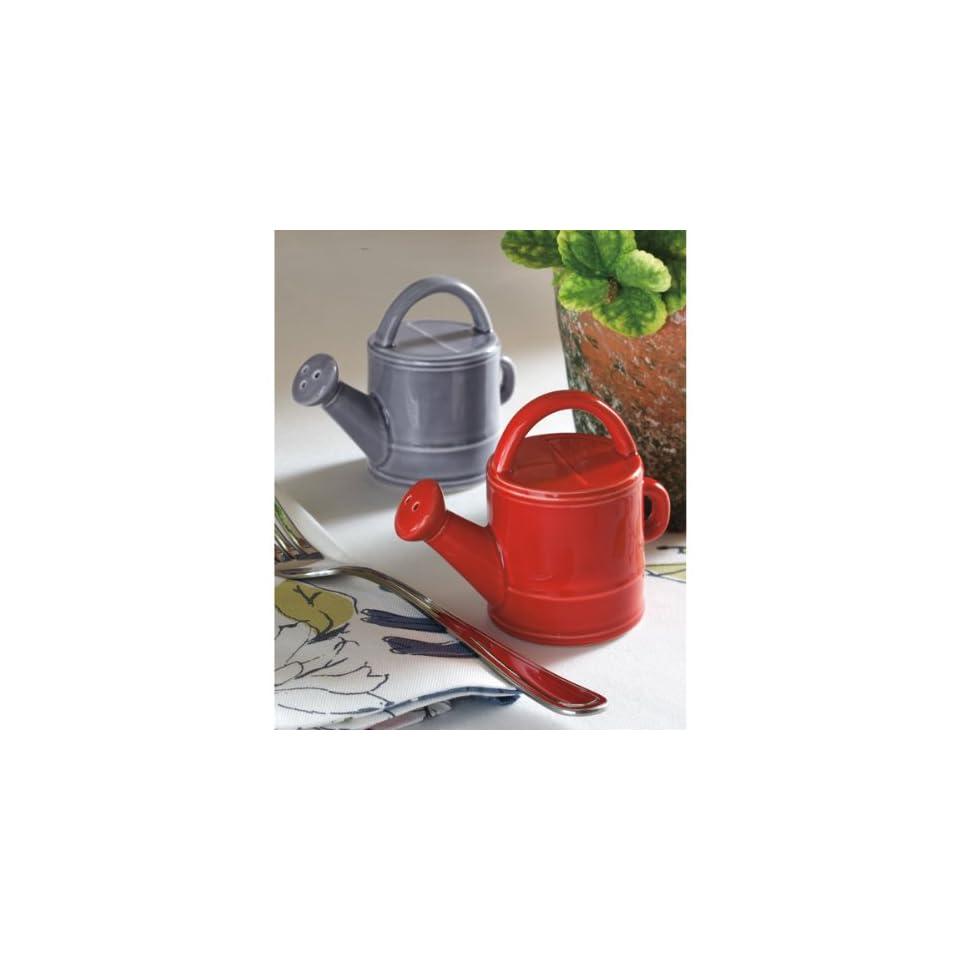 Sarahs Garden Watering Can Salt & Pepper Shakers
