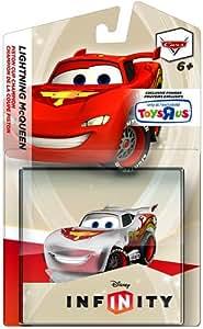 Disney Infinity Exclusive Game Figure Lightning McQueen [Translucent]