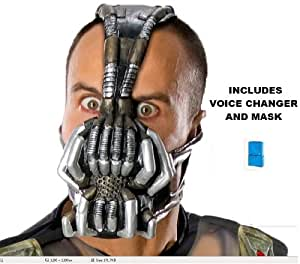 Batman The Dark Knight Rises Bane Adult Mask with Voice Changer