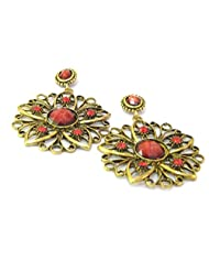 Aza Collections Dangle And Drop Earring For Women - B00QV8O0U6