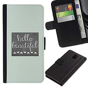 Hairdresser Beige - Samsung Galaxy Note 3 III N9000 N9002 N9005
