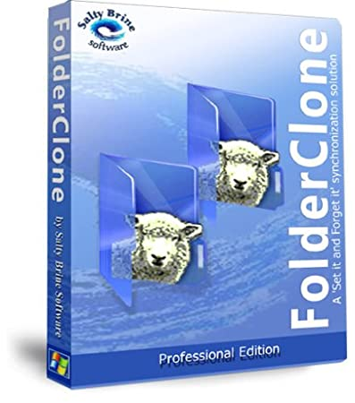 FolderClone Professional Easy Backup, Synchronization, Replication, and Mirroring of Important Files on Most Storage Media for Windows
