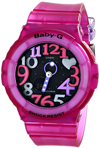 Casio Women's BGA-131-4B4CR Baby G Analog-Digital Display Quartz Pink Watch