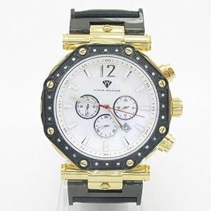 Aqua Master Men's Diamond Watch 0.12ctw