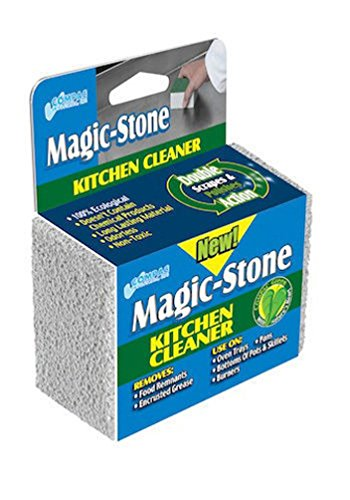 Lunarland Magic Stone Kitchen Cleaner - Cleans Oven Trays Pans Pots Skillets Stove Burners (Stove Top Cake Pan compare prices)