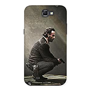 Ajay Enterprises Extant Doc Observing Back Case Cover for Galaxy Note 2