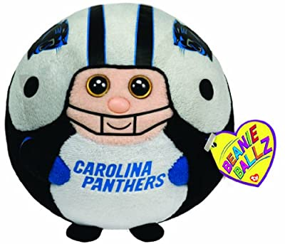 Ty Beanie Ballz Carolina Panthers - NFL Ballz