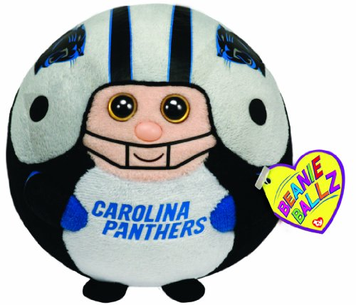 Ty Beanie Ballz Carolina Panthers - NFL Ballz - 1