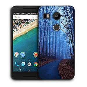 Snoogg Trees Without Leaves Printed Protective Phone Back Case Cover For LG Google Nexus 5X